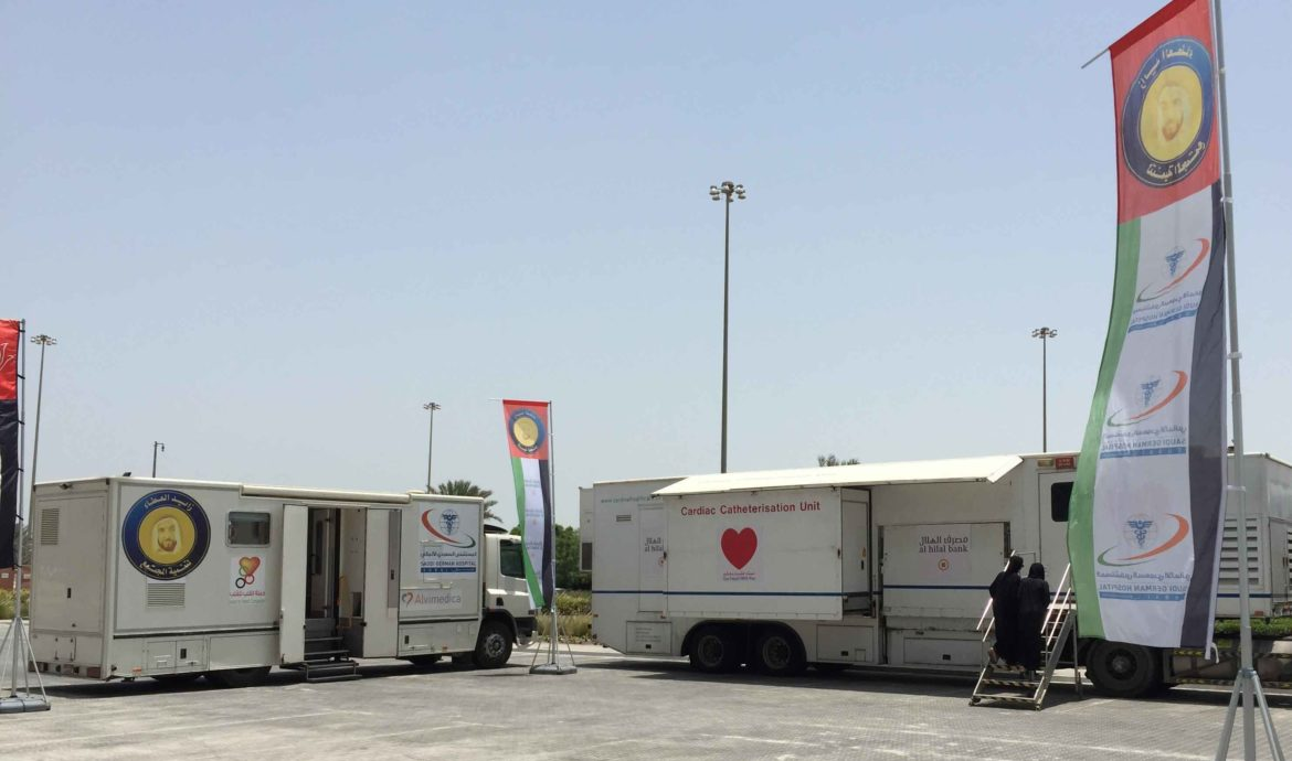 Mobile clinic launched WeCare Pharmacy