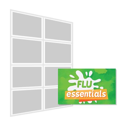 1 A4 HALF PRICE FLASH - (PF01-A)